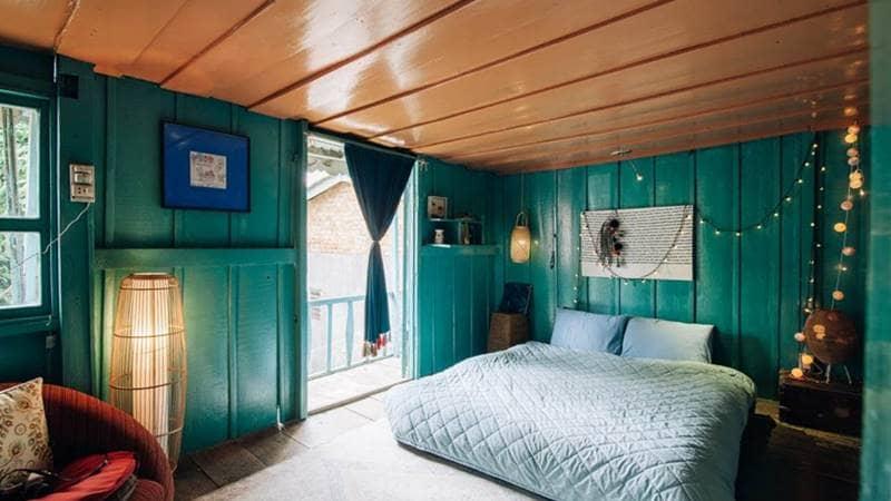 Phòng ngủ đôi tại Le Bleu - Nhà Trong Xóm