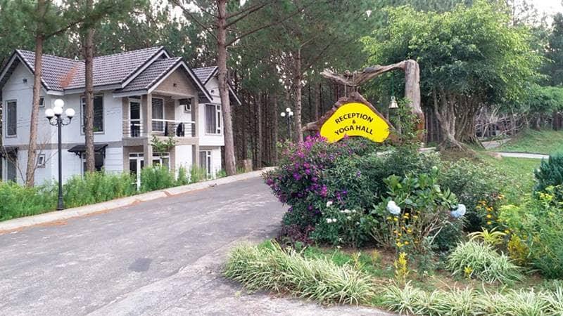 Khu nghỉ dưỡng K'lan là resort hồ Tuyền Lâm Đà Lạt kết hợp giữa nghỉ dưỡng với trung tâm dạy yoga. Nguồn: Internet