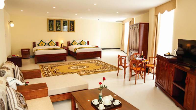 Phòng nghỉ Family Suite tại khu nghỉ dưỡng. Nguồn: Internet