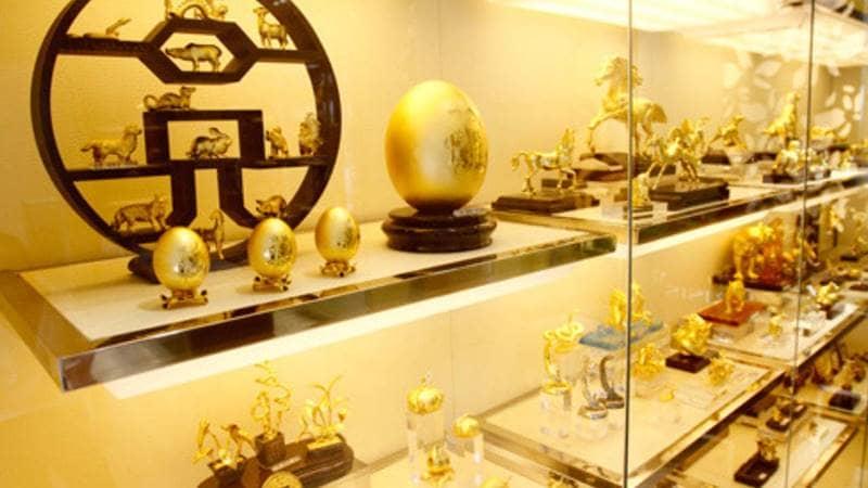Lựa chọn tranh, tượng cầu may tết đến VietinBank - Gold & Jewellery