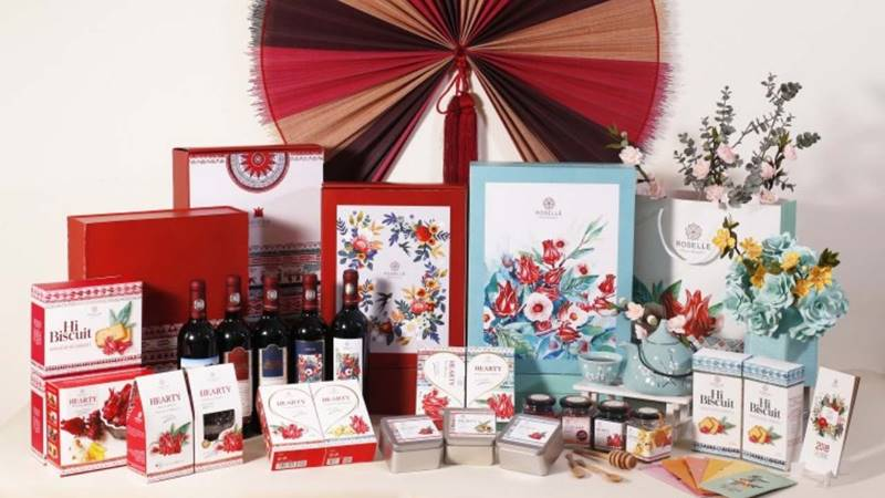 Lựa chọn món quà cho sức khỏe và hạnh phúc tạiRoselle Việt Nam