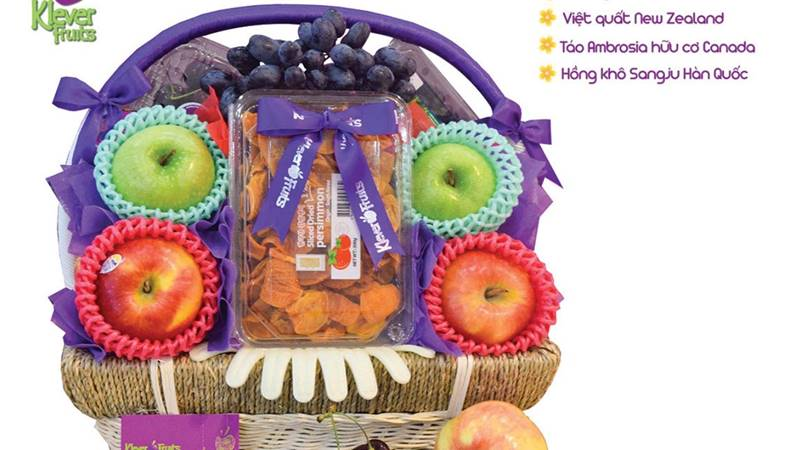 Combo giỏ quà trái cây tết An Khang Thịnh Vượng