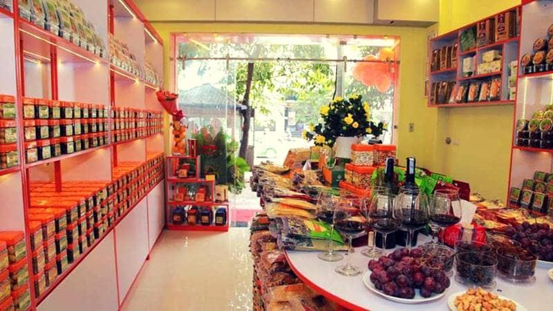Chuỗi cửa hàng ô mai Hồng Lam - đặc sản Hà Nội