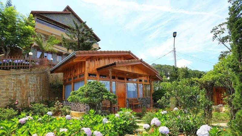 Một biệt thự nhỏ tại Zen Valley Resort Dalat. Nguồn: Internet