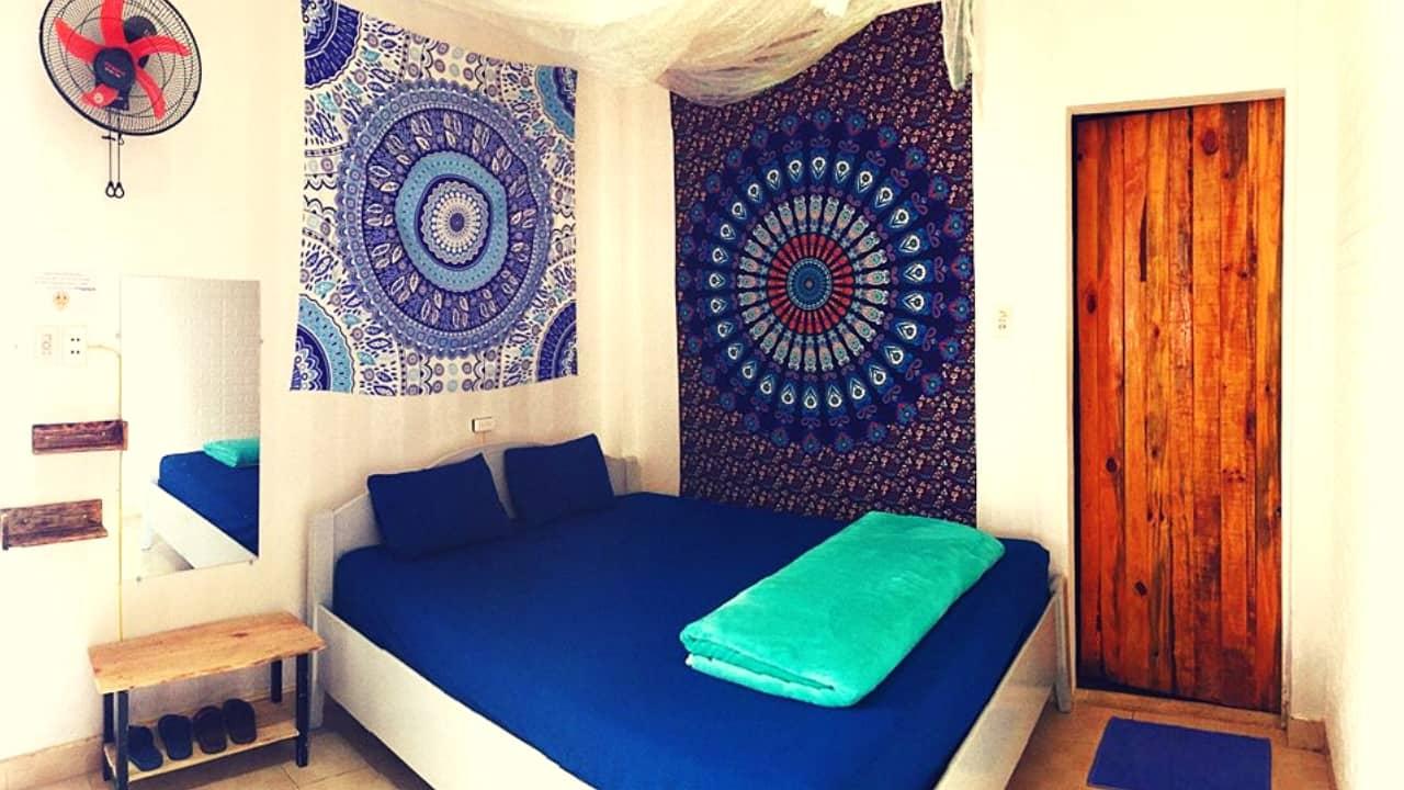 Phòng được derco đơn giản mà đẹp mắt