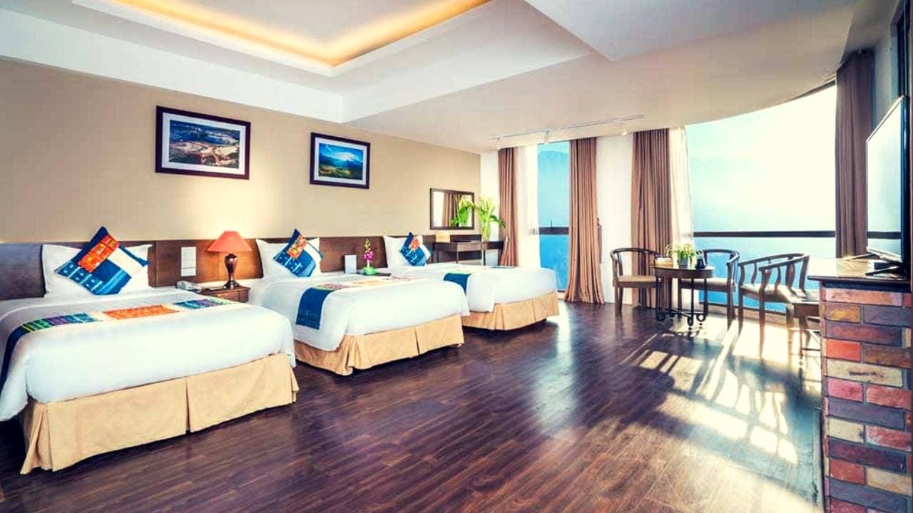 Thiết kế phòng nghỉ tại Amazing Hotel Sapa