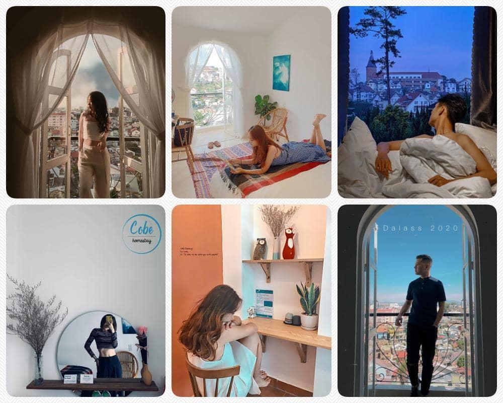 Cobe – homestay Đà Lạt view đẹp lãng mạn