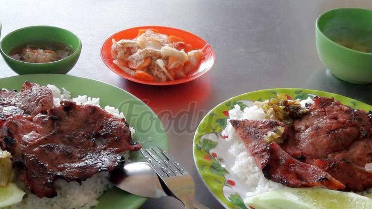 Cơm tấm Khanh Kiều đúng hương vị cơm tấm Sài Gòn. Nguồn: Foody