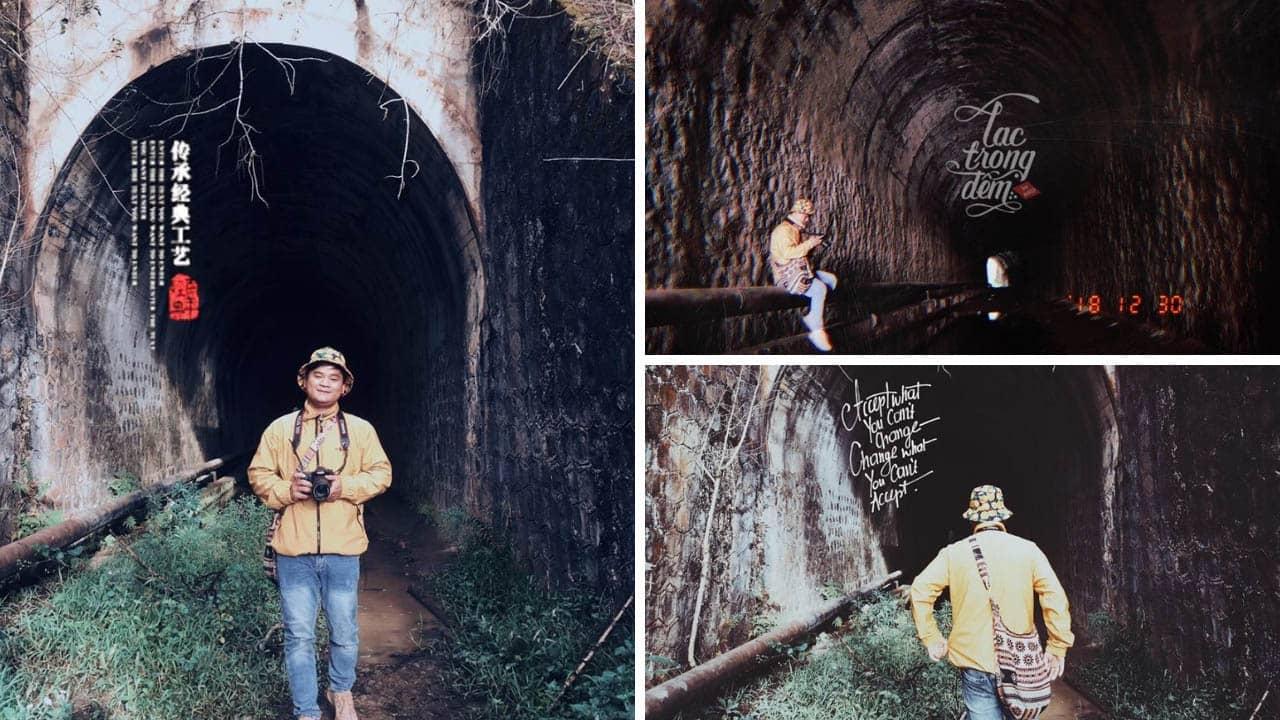 Hầm Hỏa Xa đến vùng đất linh hồn - Ảnh: Ngô Đồng