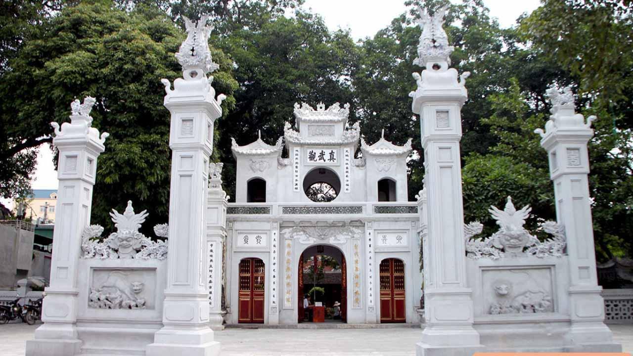 Trấn phía Bắc Thăng Long: Đền Quán Thánh