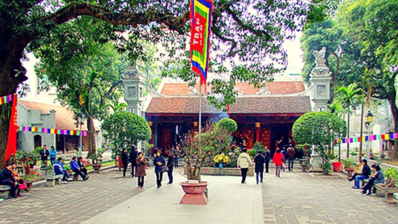 Thời gian đi lễ Tứ trấn Thăng Long vào những ngày đầu năm đẹp nhất là khoảng từ ngày mùng 1 - 15 tháng Giêng