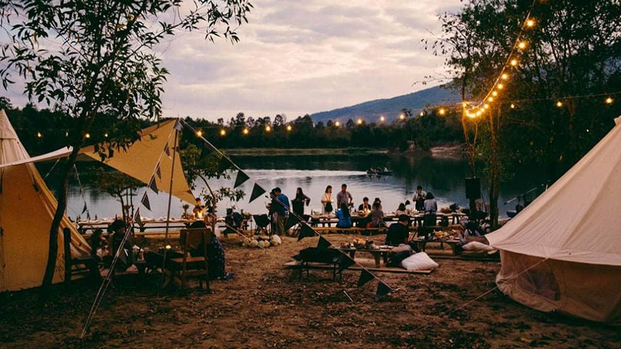 Cùng bạn bè tổ chức các buổi cắm trại ở Đà Lạt