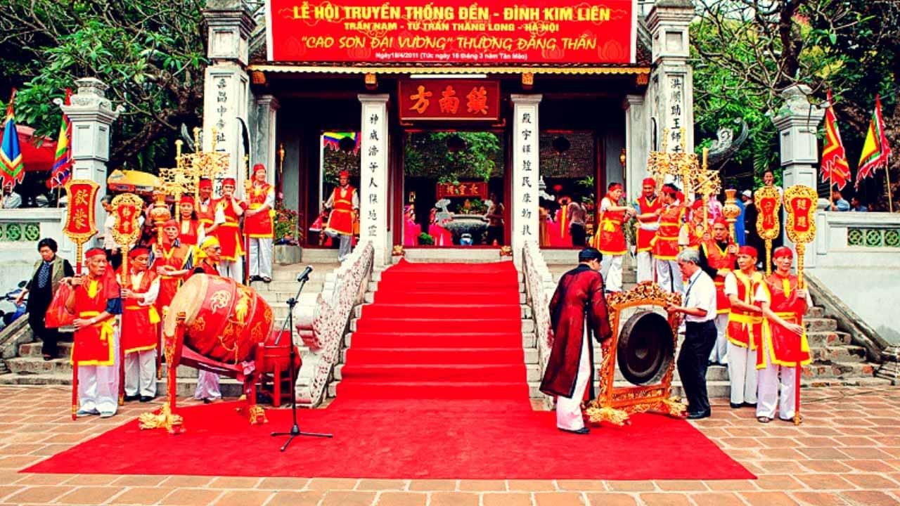 Lễ hội đình Kim Liên