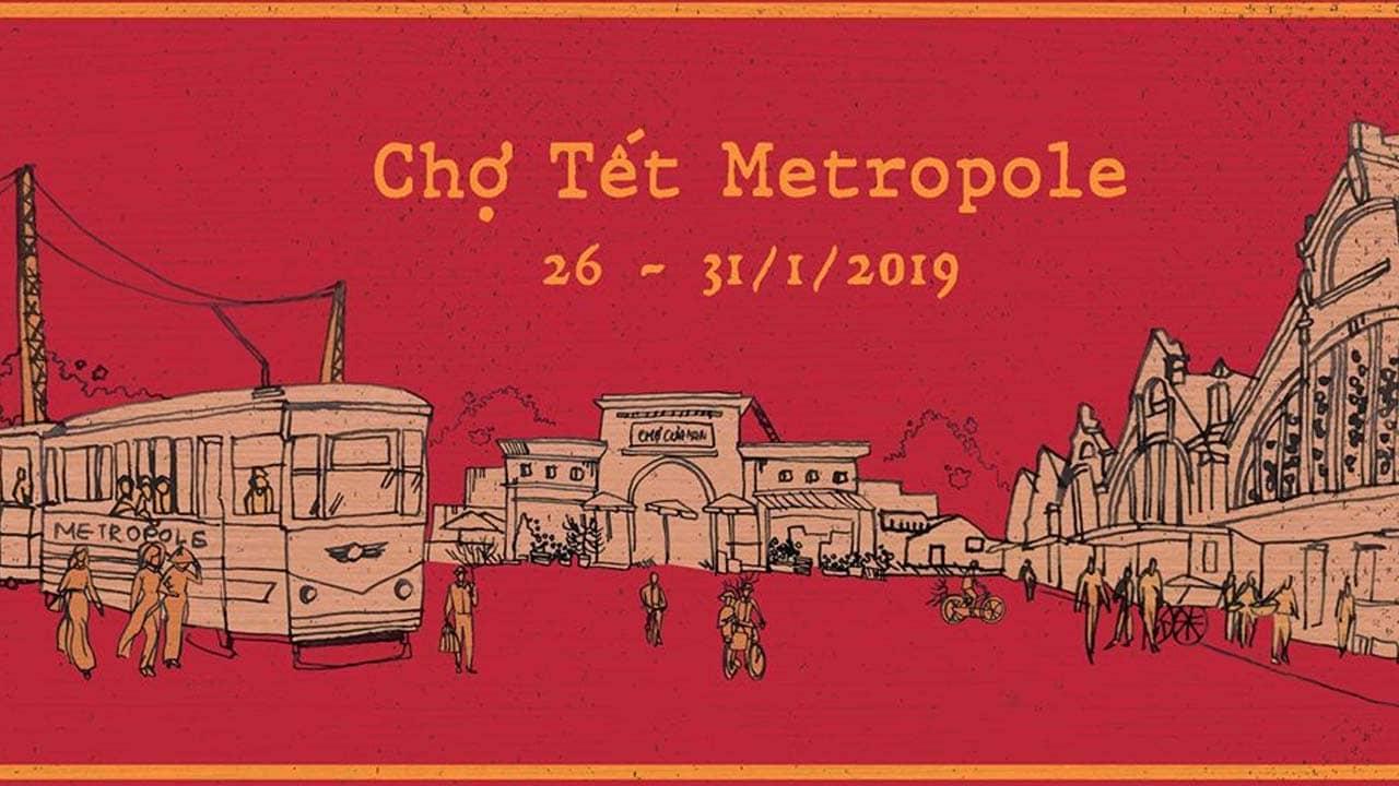 Hội chợ Tết tại Metropole 2019