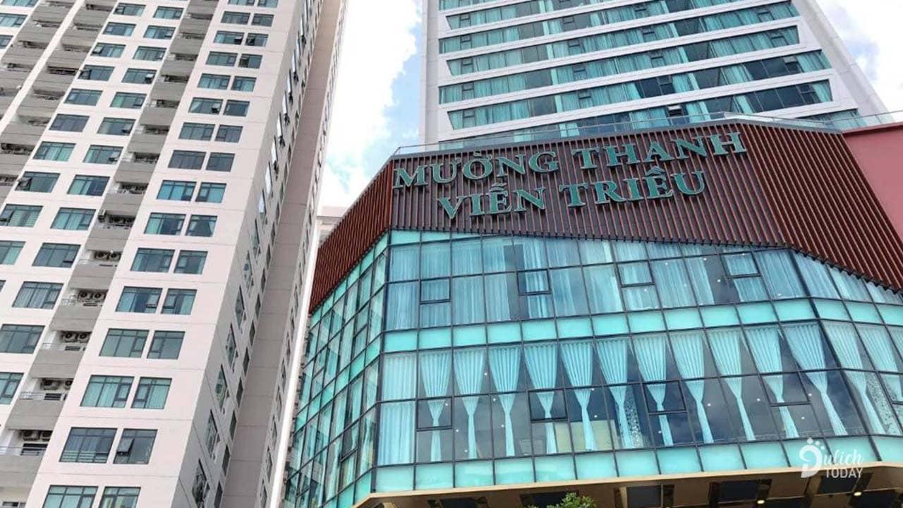 Tòa nhà khu căn hộ Seaview Muong Thanh Vien Trieu Apartment