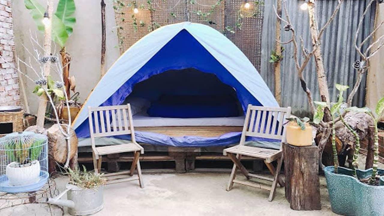 Phòng lều lãng mạn