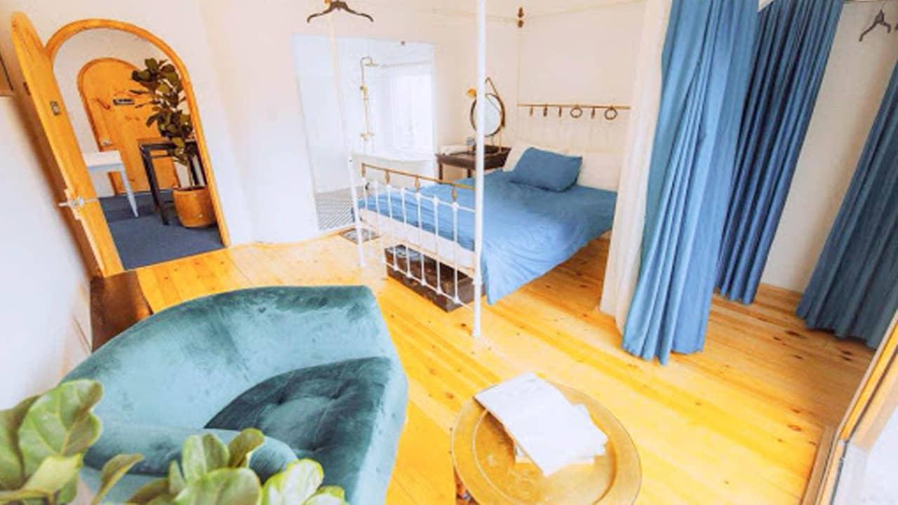 Căn phòng đơn giản mà tinh tế