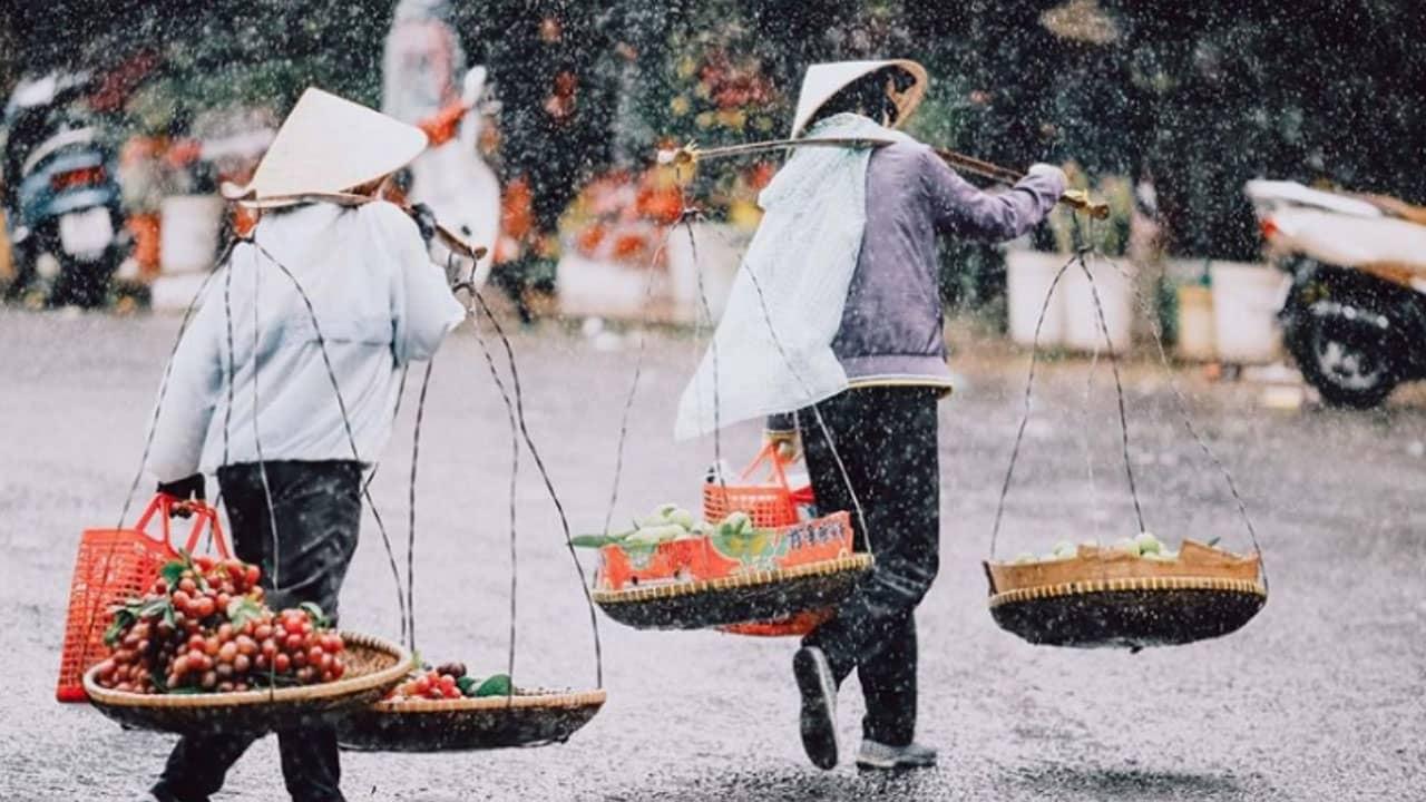 Tháng 7 ở Đà Lạt là mùa của những cơn mưa rào bất chợt