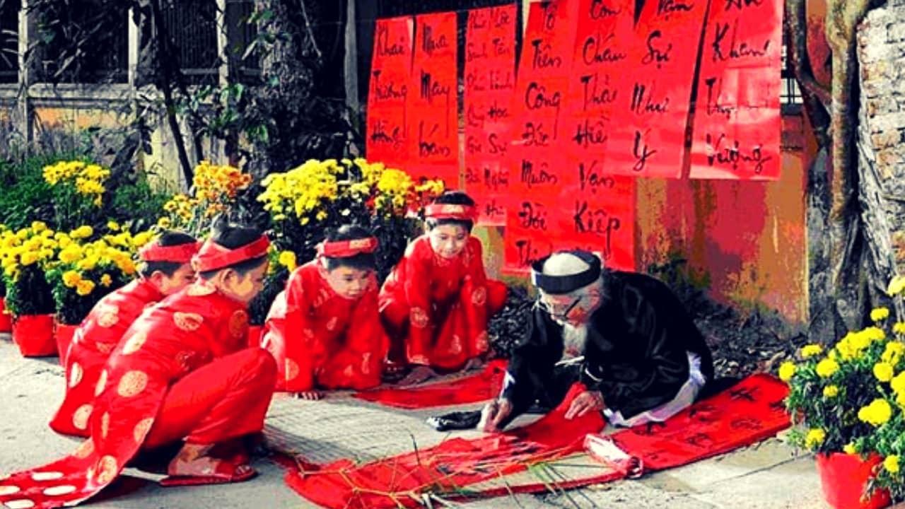 """phong tục truyền thống được tái hiện lại tại """"Nét xuân"""" 2019"""