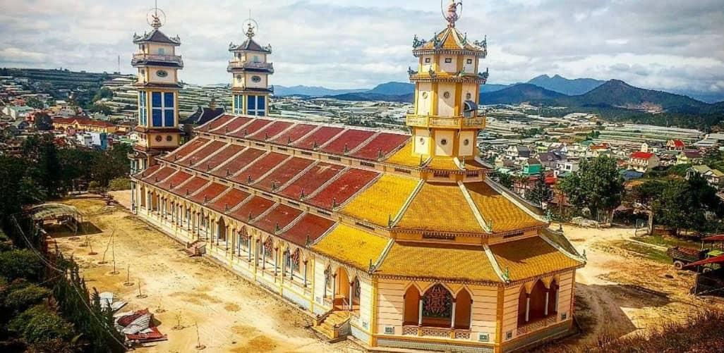 Kiến trúc độc đáo của Thánh Thất Đa Phước