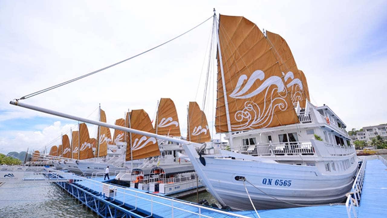 Bến du thuyền Tuần Châu. Nguồn: Internet