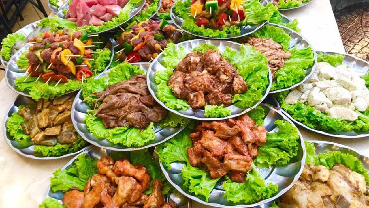 Ngon BBQ được ví như thiên đường đồ nướng với thực đơn buffet nướng đủ loại