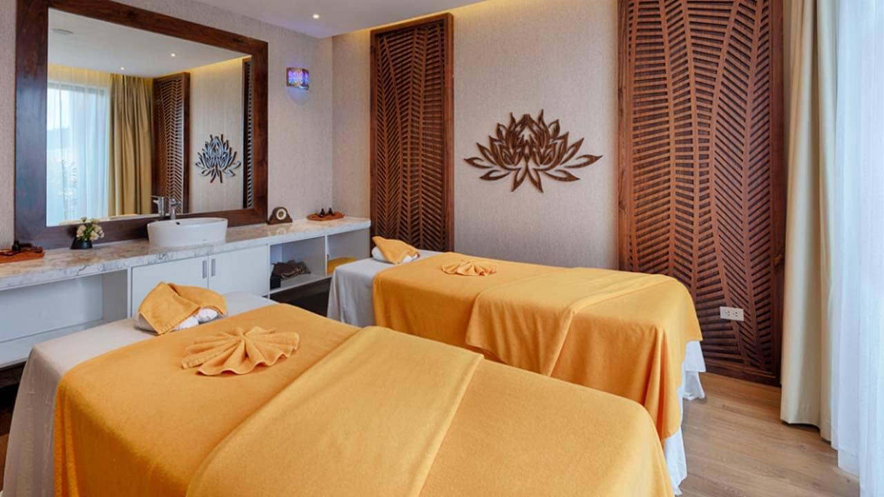 Phòng Spa tại Royal Lotus Resort. Nguồn: Internet