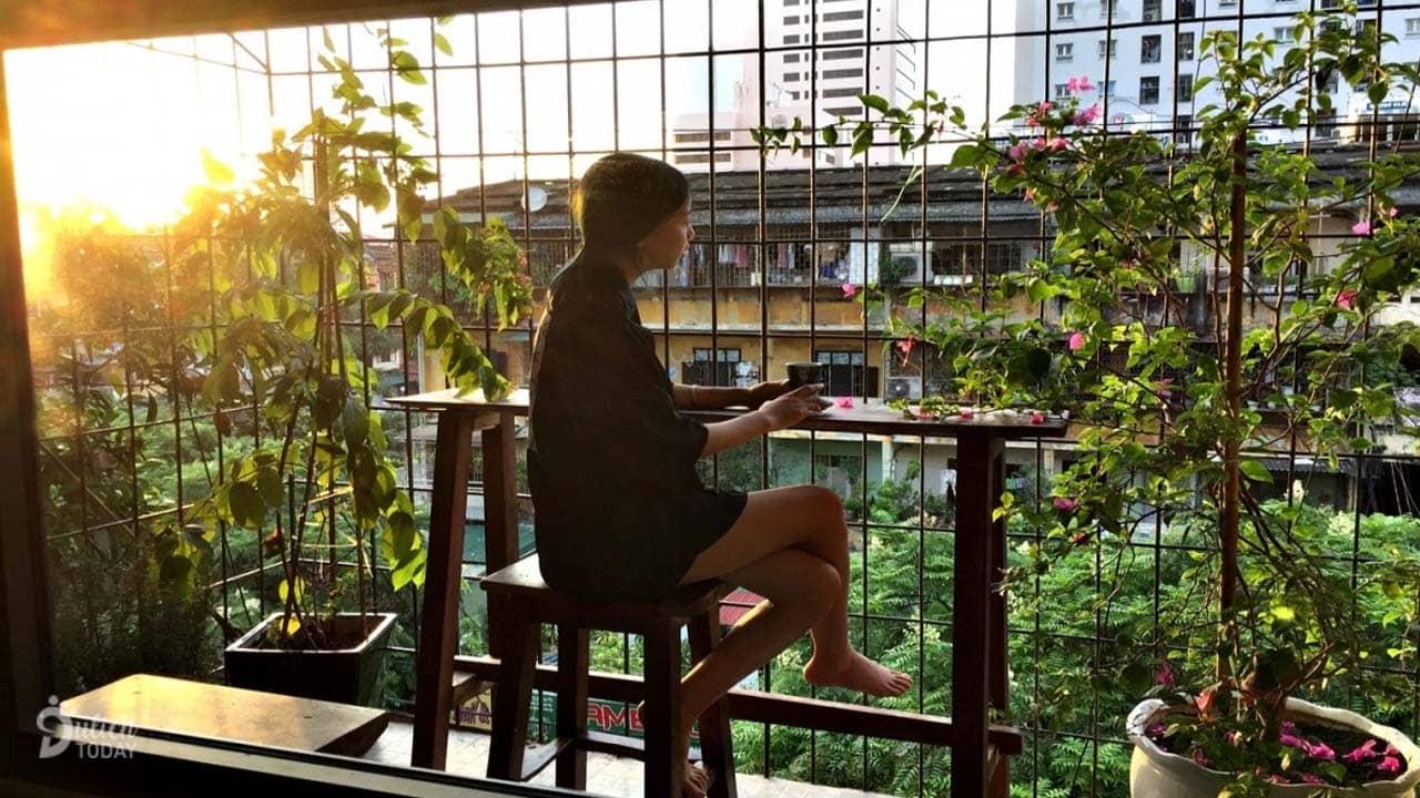 Không gian lãng mạn tại Rùa's house