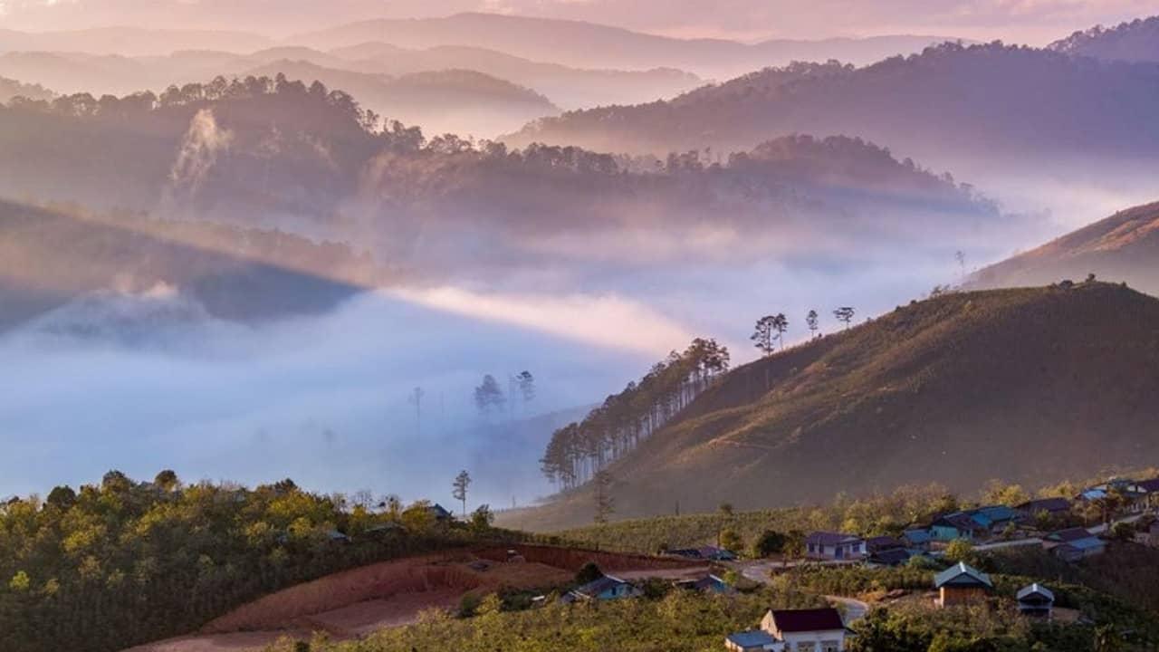Săn mây ở Đà Lạt vào tháng 7