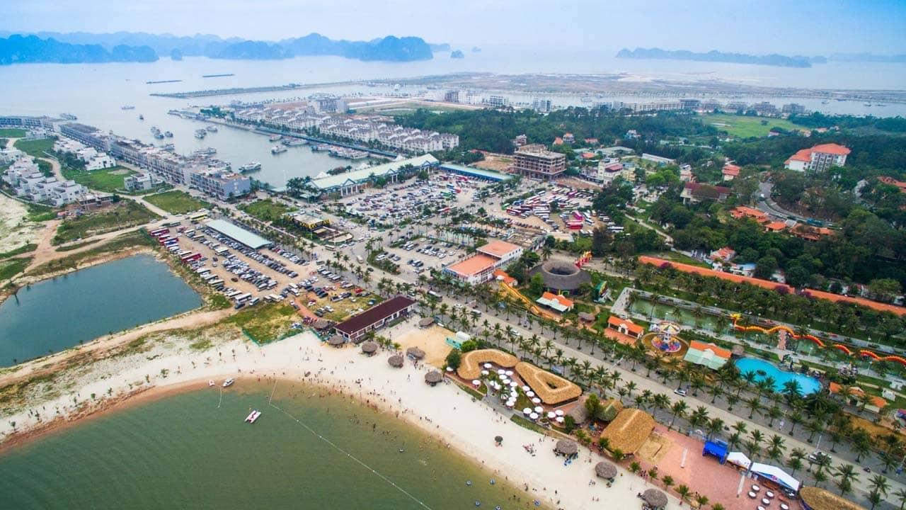 Tour Hạ Long 2 ngày 1 đêm nghỉ dưỡng tại bán đảo Tuần Châu. Nguồn: Internet