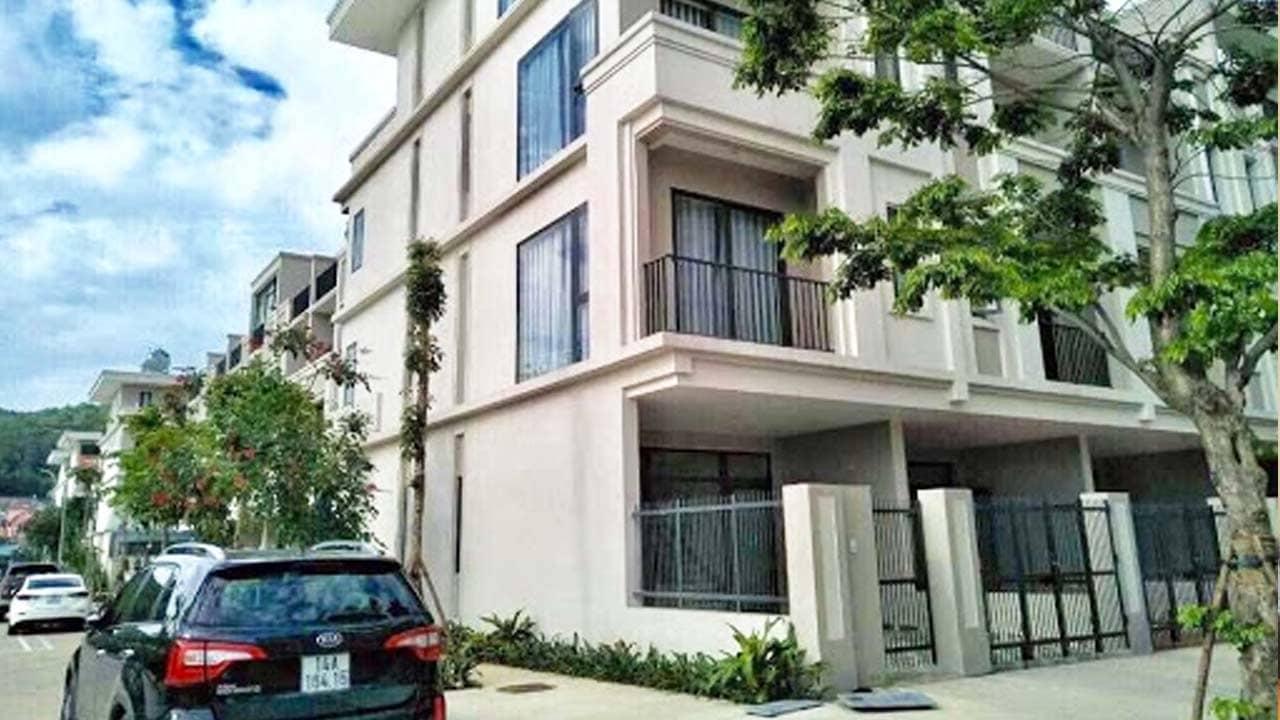 Một căn viila Hạ Long 4 tầng ở Green Bay. Nguồn: Internet