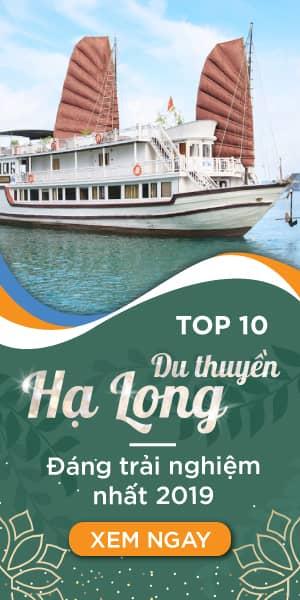 Banner du thuyền Hạ Long