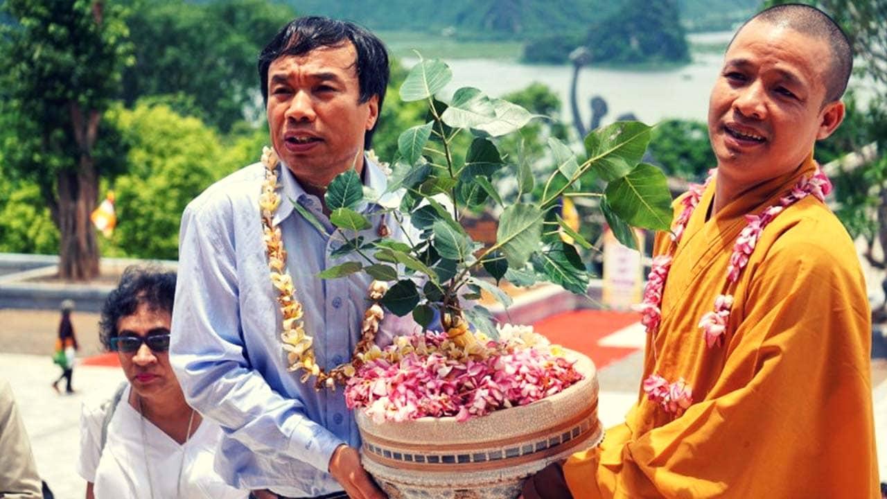 Lễ trao tăng cây Bồ Đề tại chùa Tam Chúc