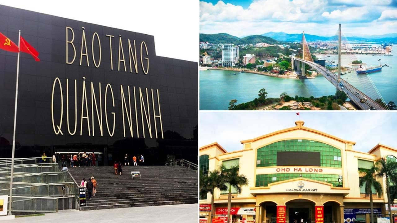 Hạ Long City Tour 3 ngày mang du khách ghé thăm những địa điểm nổi tiếng như cầu Bãi Cháy, chợ Hạ Long,... Nguồn: Internet