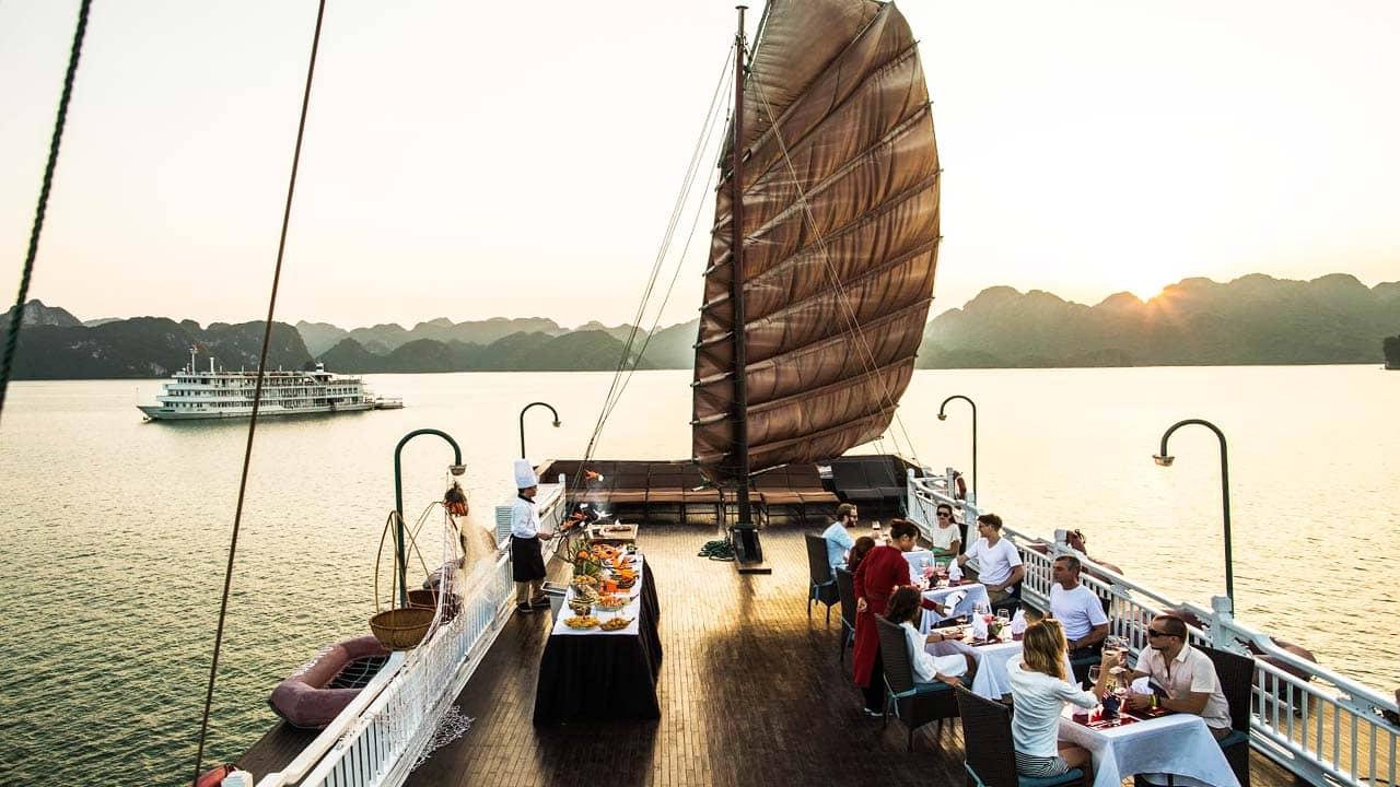 Du lịch nghỉ dưỡng bằng du thuyền - cruise đang là xu hướng ngày càng phát triển. Nguồn: Internet