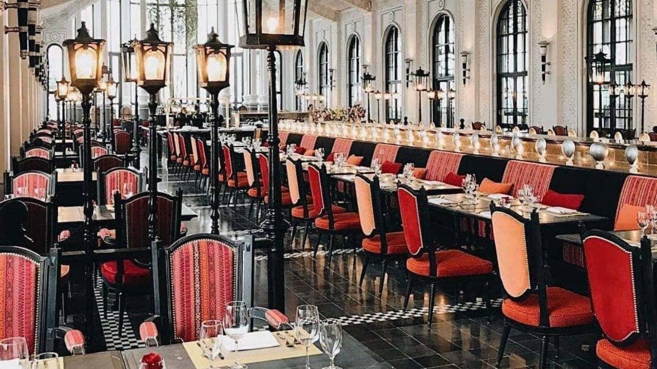 Không gian lãng mạn của nhà hàng Chic trong khách sạn