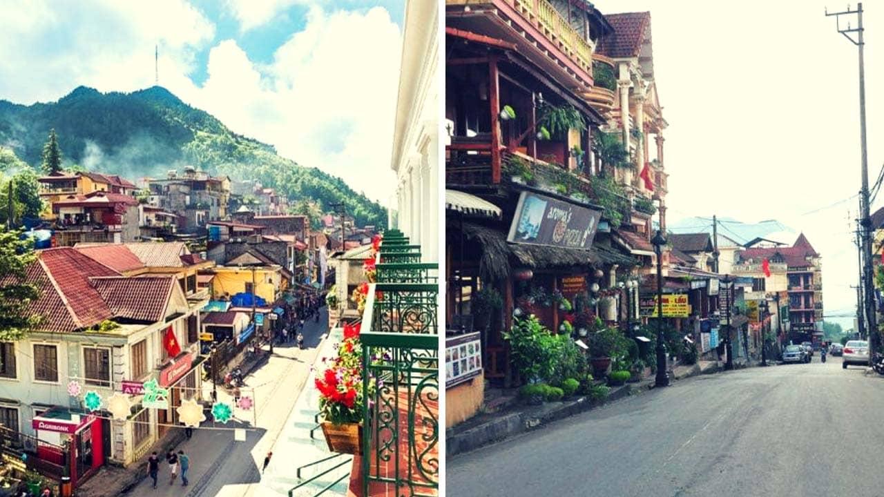 BB hotel nằm tại trái tim của thành phố và sở hữu không gian có view đẹp nhất tại Sapa