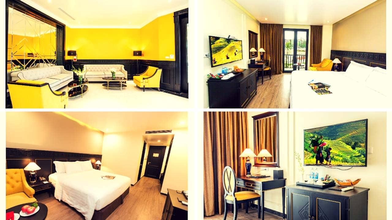 Các loại phòng tại khách sạn BB Sapa