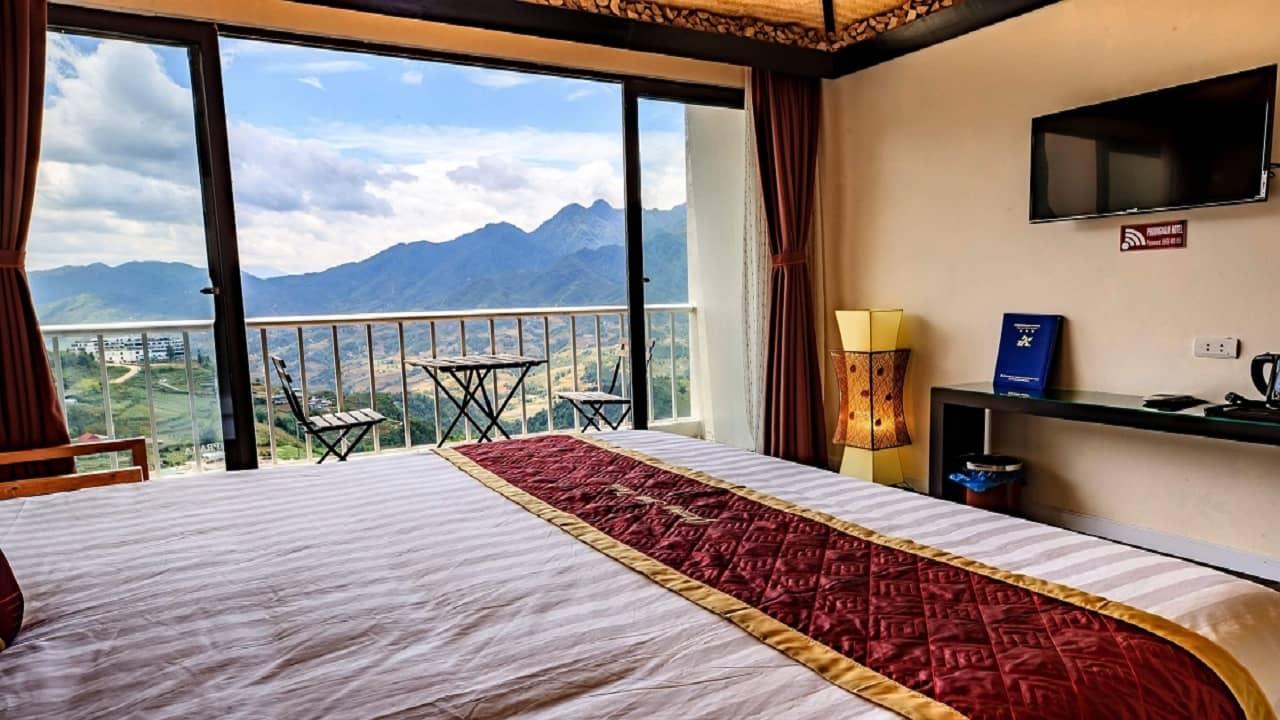 Phòng nghỉ tại khách sạn Phương Nam Sapa