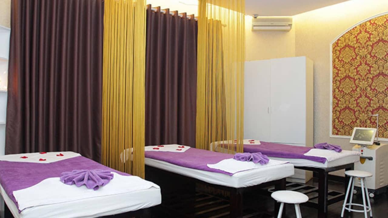 Phòng massage trị liệu tại Mây Spa