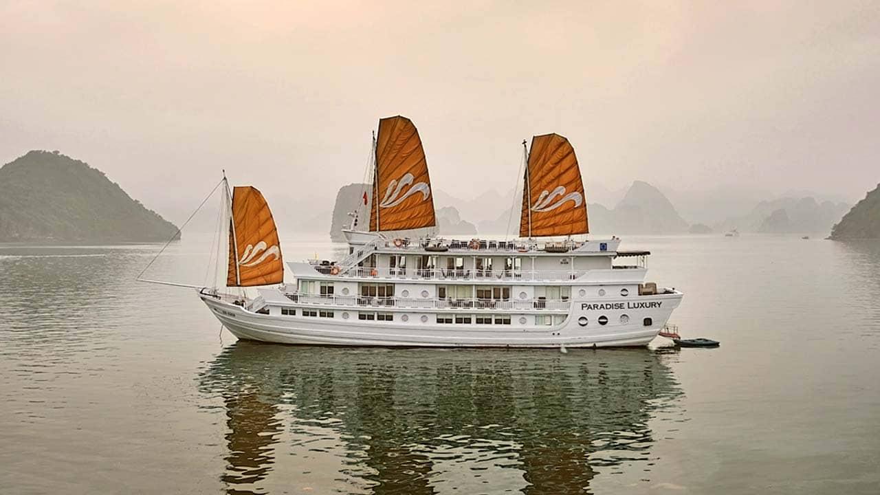 Du thuyền Paradise Luxury. Nguồn: Internet