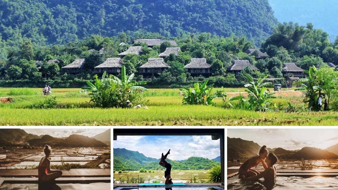 Mai Châu Ecolodge resort Hòa Bình tuyệt đẹp