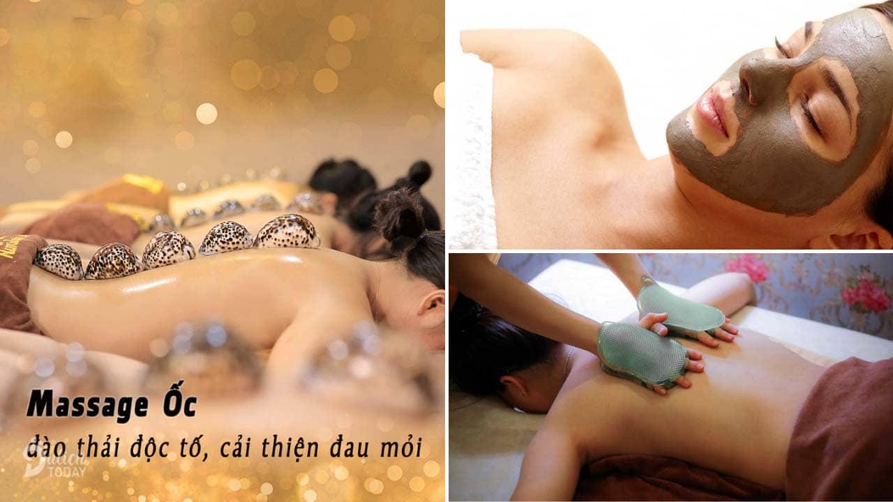 Các dịch vụ chăm sóc sức khỏe và làm đẹp khác tại Himalaya Health Spa cũng được các chị em ưa dùng