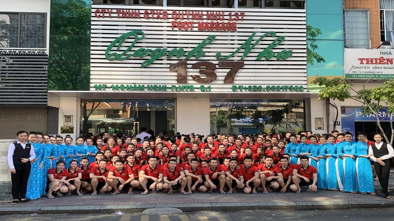 Massage Quỳnh Như - địa chỉ foot massage Sài Gònuy tín
