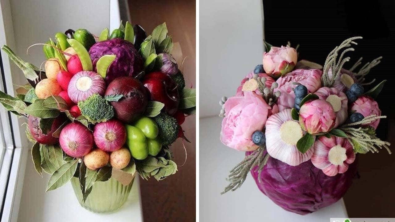 Bạn có thể tham khảo một số mẫu bó hoa độc đáo này để tạo nên món quà riêng của mình.