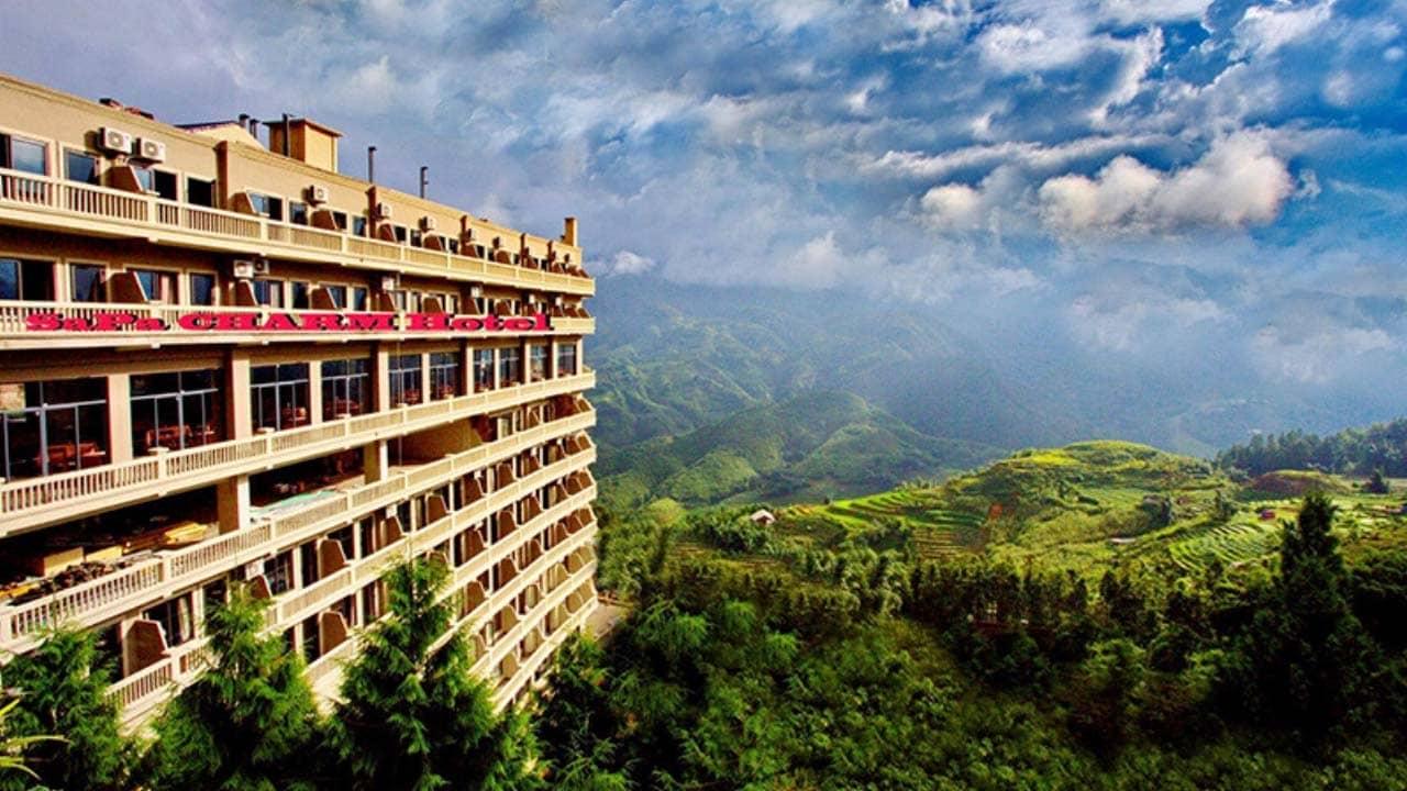 Charm Sapa là một trong những khách sạn đẹp nhất tại thung lũng Mường Hoa