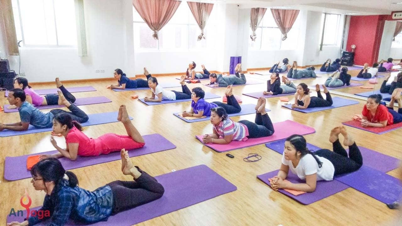 An Yoga là trung tâm yoga Cầu Giấy Hà Nội tốt nhất với những buổi tập nhẹ nhàng, thư giãn. Nguồn: Internet