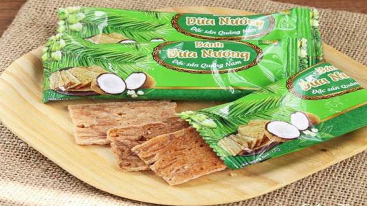 Bánh dừa nướng - Đặc sản Sài Gòn thích hợp để nhâm nhi bên tách trà