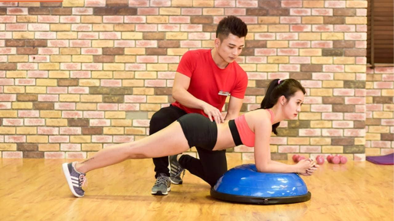 Times Fitness & Yoga Hà Nội có chương trình luyện tập riêng với huấn luyên viên. Nguồn: Internet