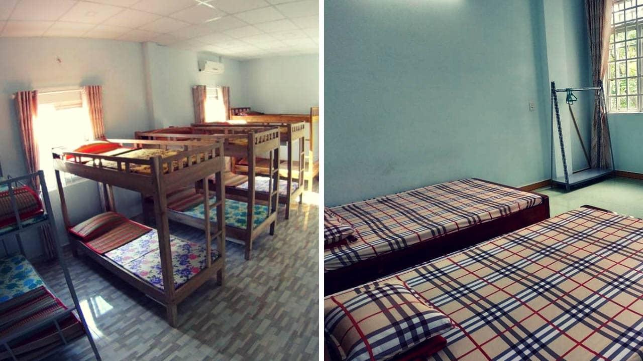 Phòng ngủ của Heo Đất homestay